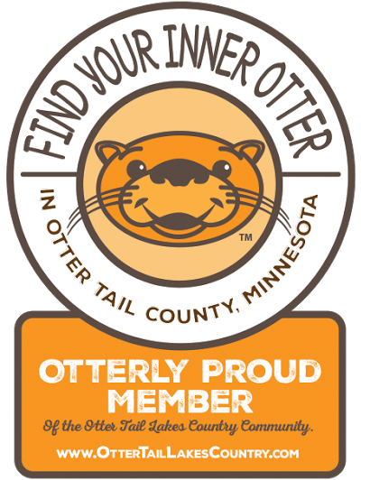 Otter Tail Lake Country Association badge.